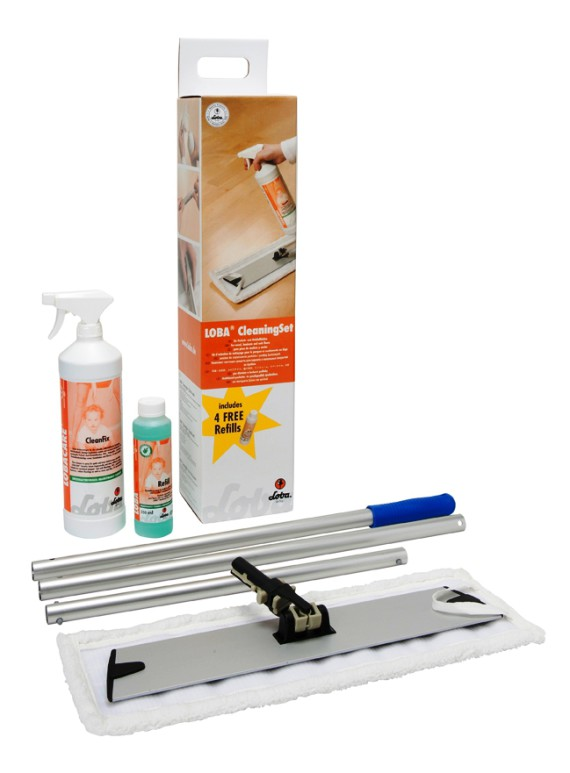 LOBACARE_Cleaning Set_kompl